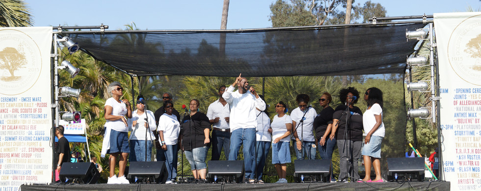 UGA performs at Balboa 100Yr Celebration.