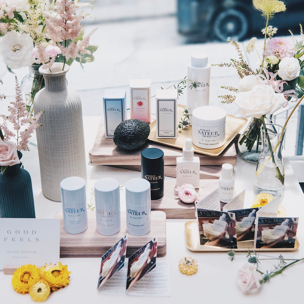 LANE CRAWFORD GOOD FEELS BEAUTY EVENT | AROUND THE CORNER PRODUCTION & SPATIAL STYLING