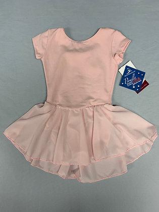 Motionwear Cap Sleeve Leotard Dress