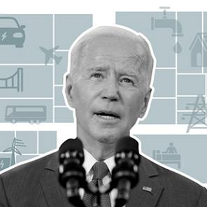 Joe Biden consigue ETF's para proyecto de infraestructura en EUA