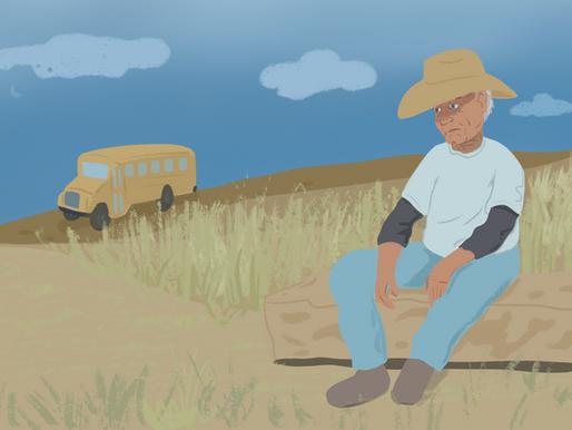 Un adulto que llegó a la vejez sin ahorro para su retiro