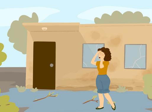 Una ama de casa que quiere encontrar el mejor seguro para su familia