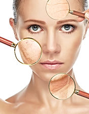 beauty concept skin aging. anti-aging pr