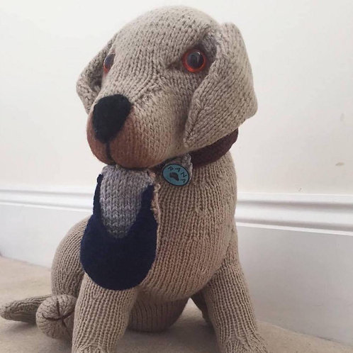 Alfie - handmade soft toy