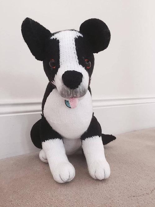 Rex - handmade soft toy