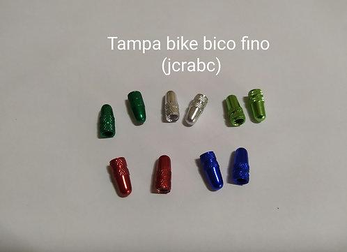 Tampa válvula bike bico fino (par)