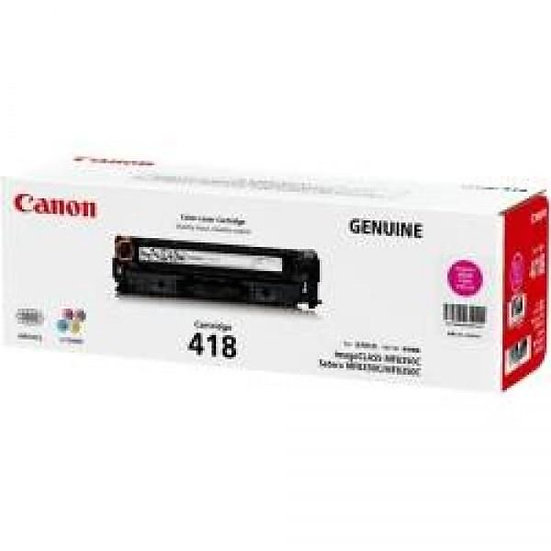 Canon CART 418M (2.9k pgs) Consumables