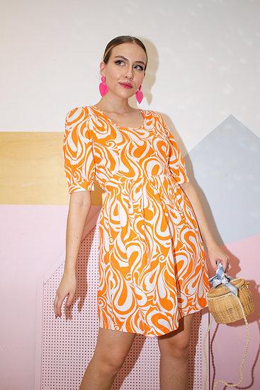 Vestido 70's Inspired