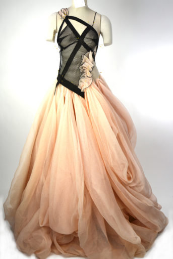 Blushing Pirate Couture Gown