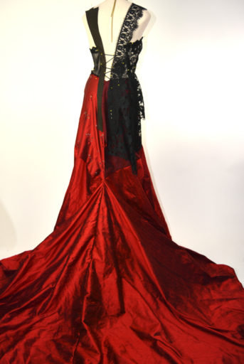 Blood Pirate Couture Gown