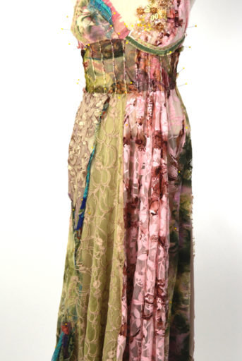 Glimpse of Garden Nymph Couture Gown