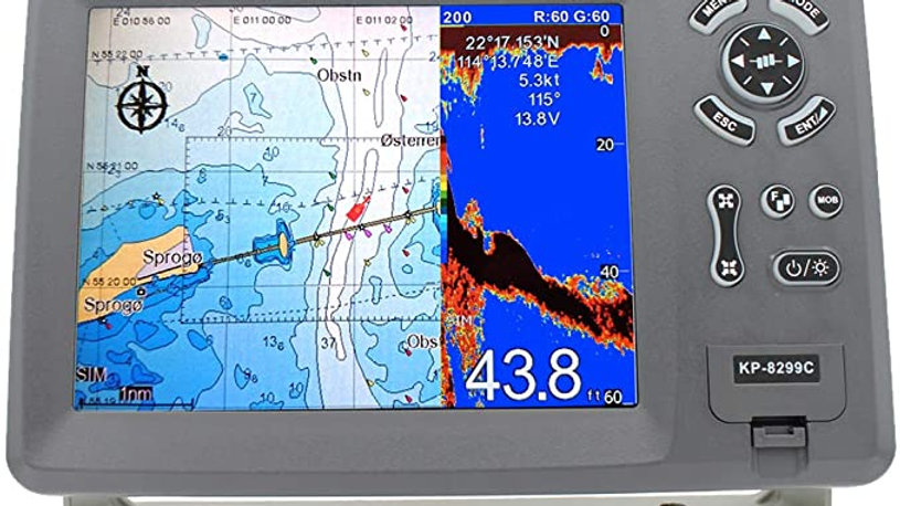 GPS Chart Plotter with Echo Sounder Onwa