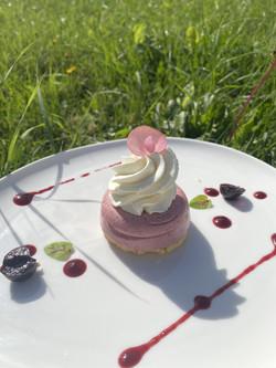 dessert-rose-herbe