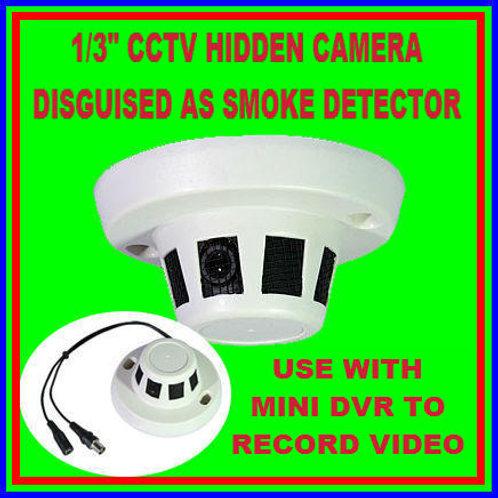Smoke Detector Covert Hidden Cctv Camera Nightvision