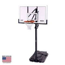 Portable Basketball goal assembly