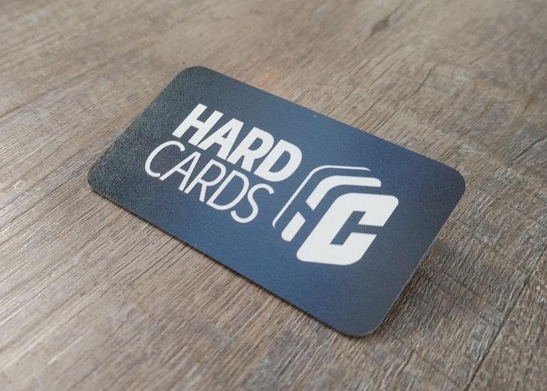 Hard Cards - (55) Aluminum Business Cards