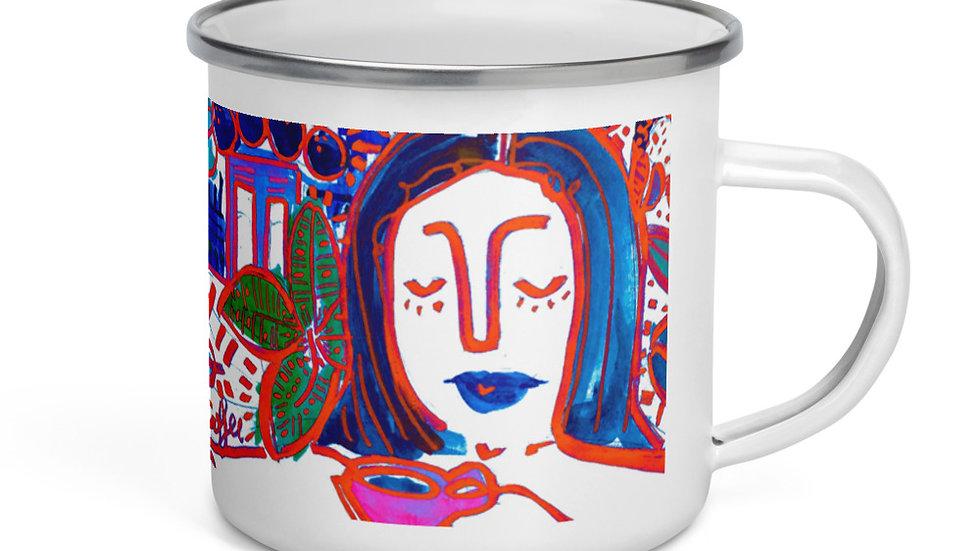 Monserrate Enamel Mug