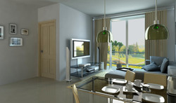 3D view. Living Room 2