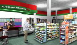 Render. Convinience Store