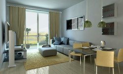 3D view. Living Room