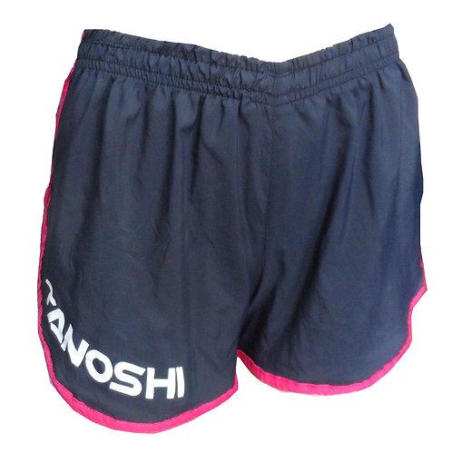 Shorts Corrida GRN Fem.Preto TANOSHI