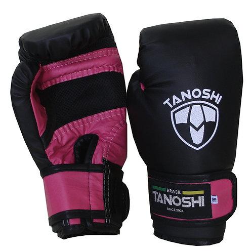 Luva Boxe Rosa Pink MuayThai Sanda Kick