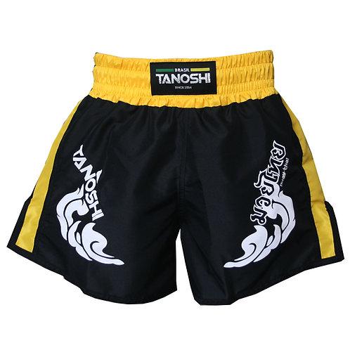 Shorts para Muaythai TRNG Amarelo Estampado