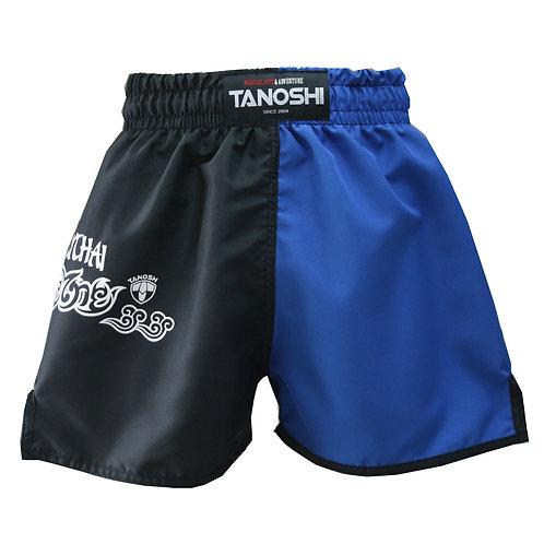 Shorts para Muaythai Half Azul Estampado