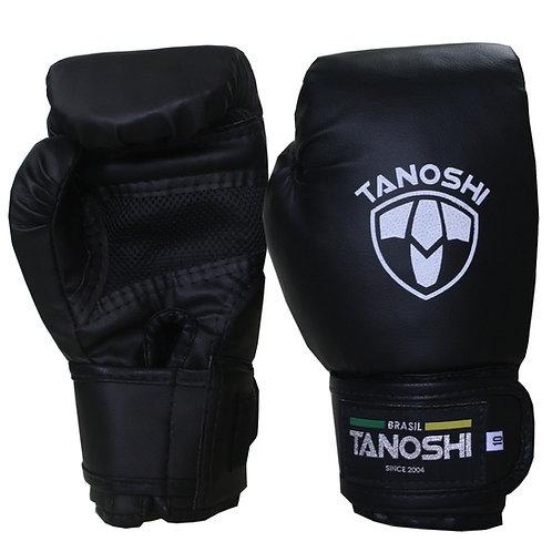 Luva Boxe Black (preto) MuayThai Sanda Kick
