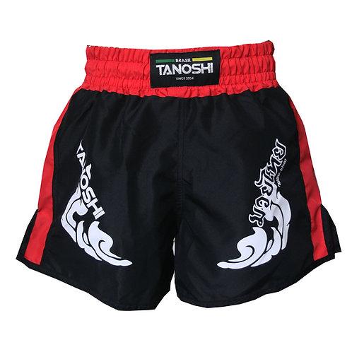 Shorts para Muaythai TRNG Vermelho Estampado