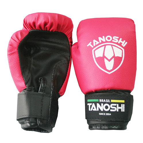 Luva Boxe Infantil Rosa Pink MuayThai Sanda Kick