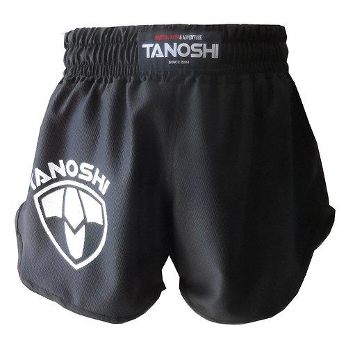 Shorts para Luta HTX Preto Estampado