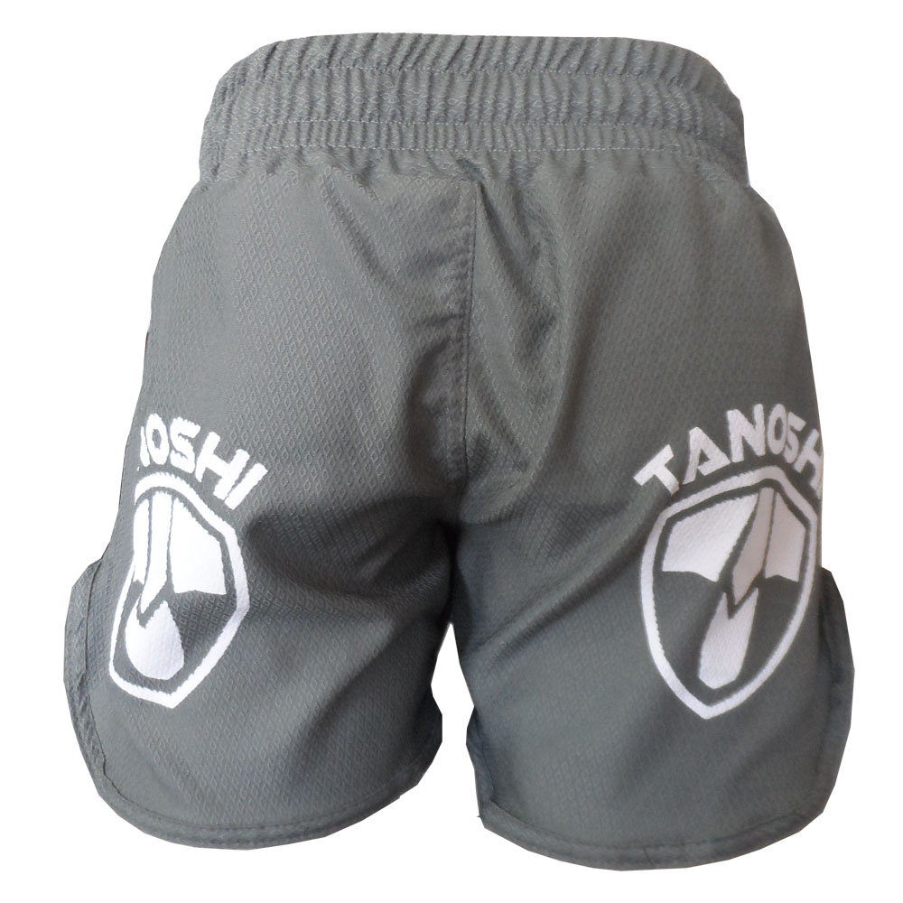 Shorts HTX TANOSHI Cinza - Costas