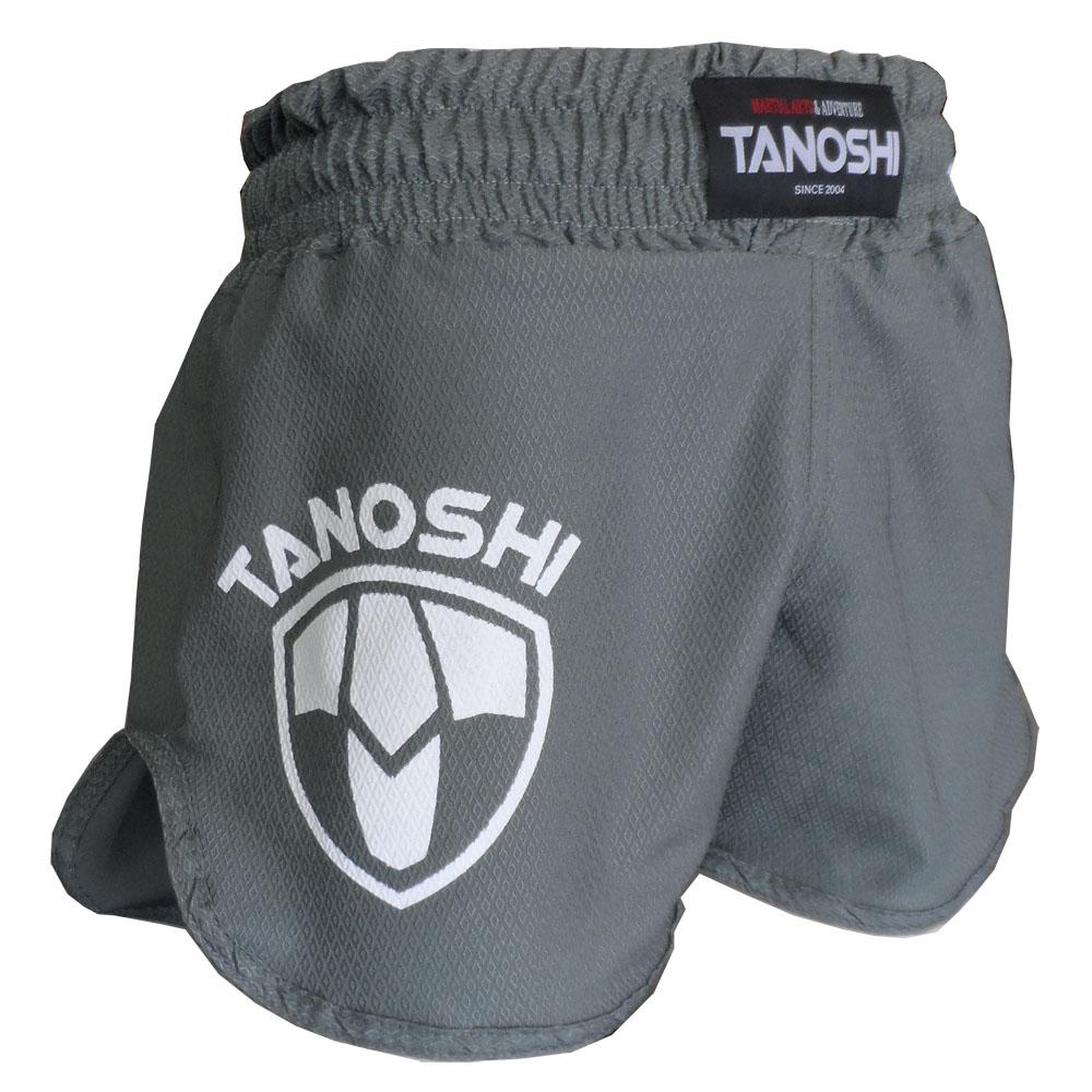 Shorts HTX TANOSHI Cinza - Lateral
