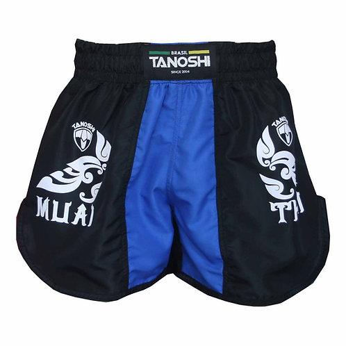 Shorts para Muaythai Kan Azul Estampado