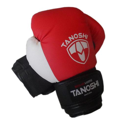 Luva Boxe TANOSHI LX Vermelha