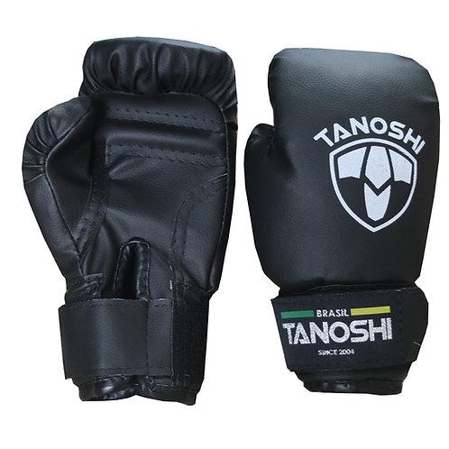 Luva Boxe Infantil Black (preto) MuayThai Sanda Kick