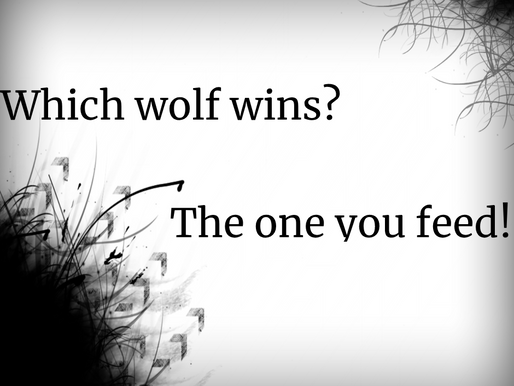 Which Wolf are you Feeding?