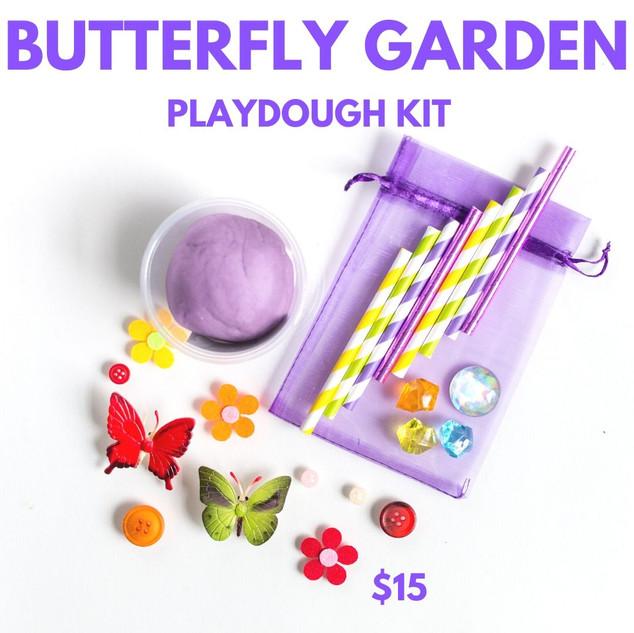 Butterfly Garden Playdough Kit