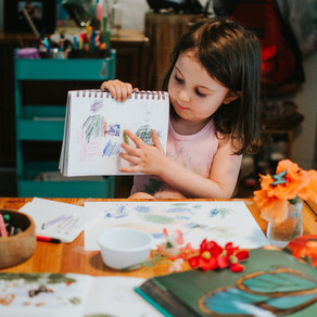 How talk to your kids about their art