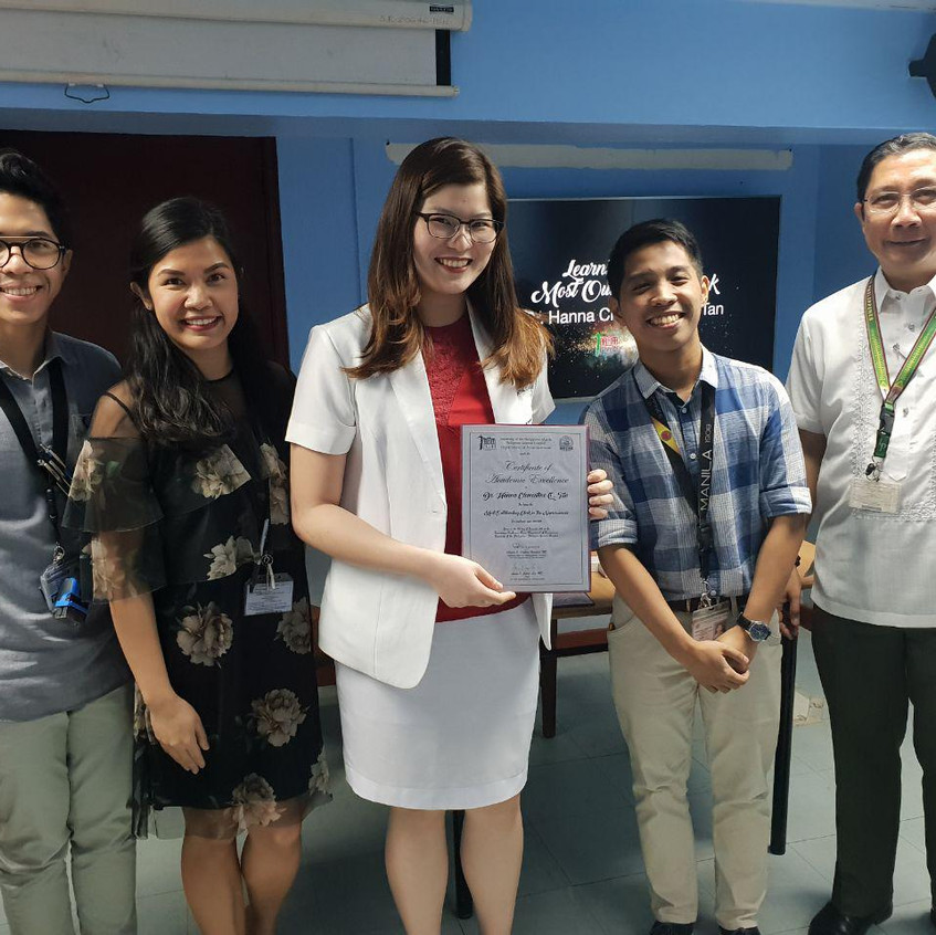 Dr. Hanna Clementine Q. Tan MOC