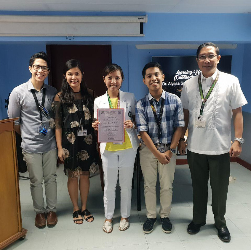Dr. Alyssa Samantha C. Fusingan LU6