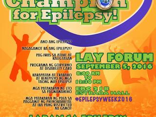 Epilepsy Week