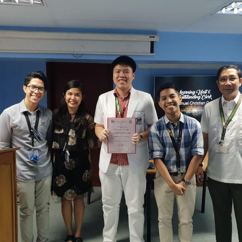 Dr. Samuel Christian C. Ong for LU6