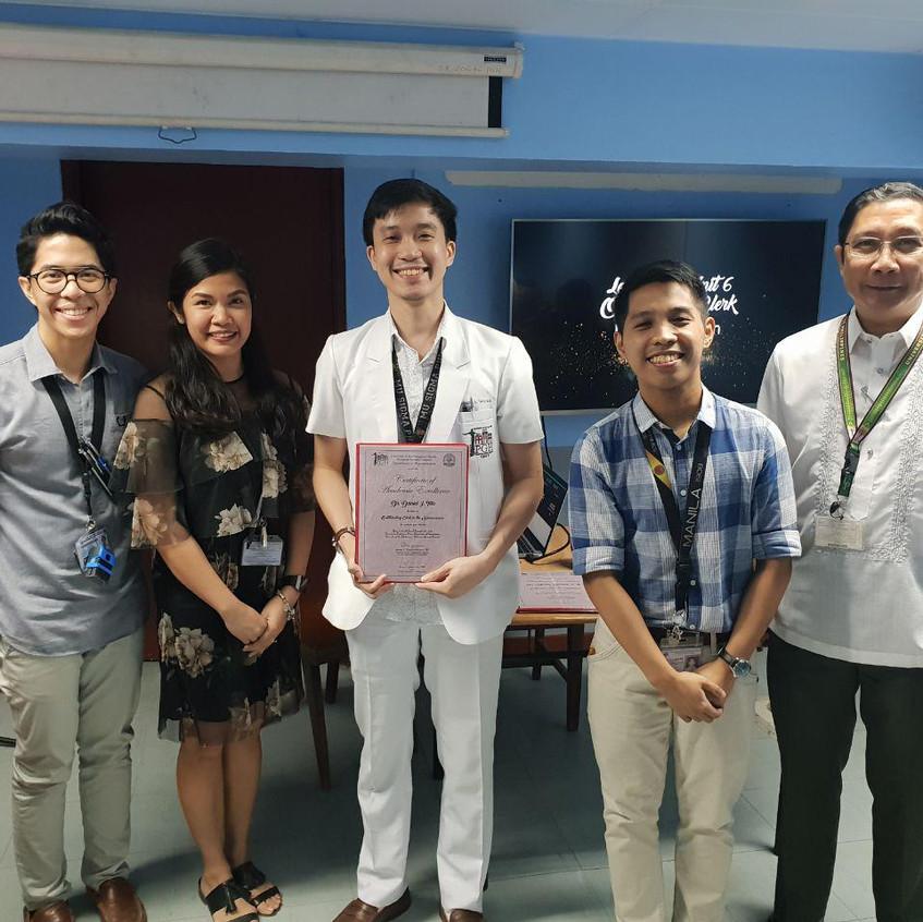 Dr. Daniel I. Tan for LU6