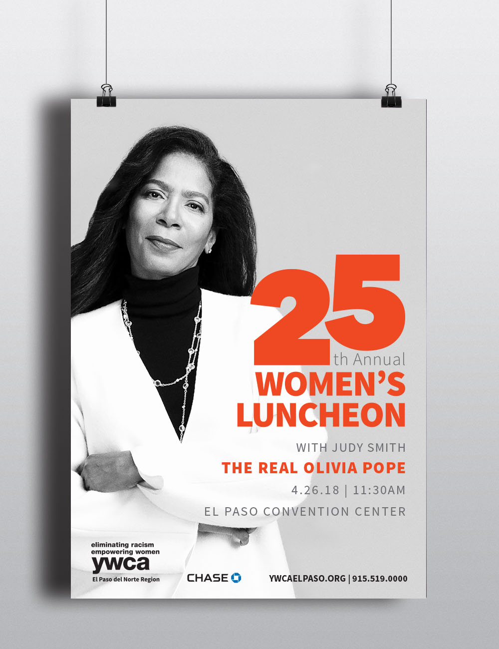 YWCA's Women's Luncheon poster