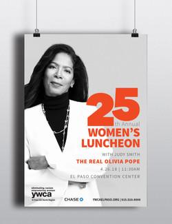 YWCA's Women's Luncheon poster