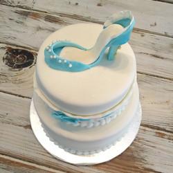 fancy shoe cake