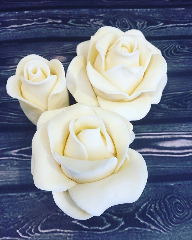 #roses #fondant