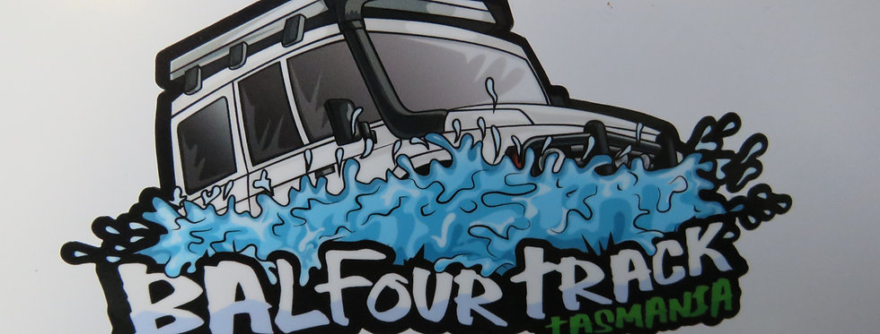 Balfour Track Bumper Sticker